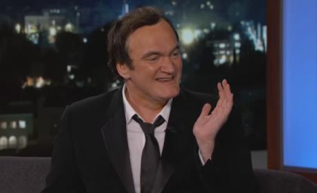 Quentin Tarantino: I Got Brad Pitt WASTED!