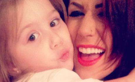 Chelsea Houska Slammed For Using Hair Dye on Aubree, Shaving Toddler's Head