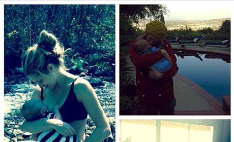 Teresa Palmer Breastfeeding