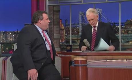 Chris Christie Fat Jokes: N.J. Governor Dishes 'Em Out on Letterman