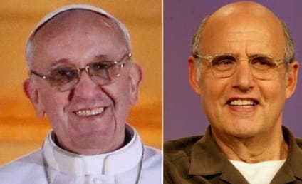 Pope Francis and Jeffrey Tambor: Celebrity Doppelgangers!