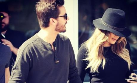 Scott Disick and Khloe Kardashian: Caught Holding Hands?!