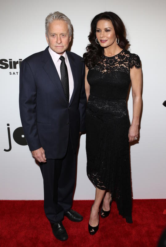 Michael douglas and catherine zeta jones jazz at lincoln center