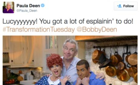 Paula Deen SLAMMED for Racist #TransformationTuesday Photo