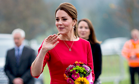 Kate Middleton in Red