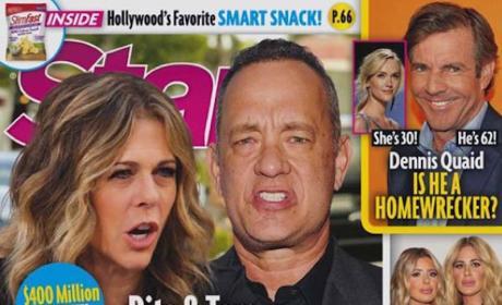 Tom Hanks Rita Wilson Star cover