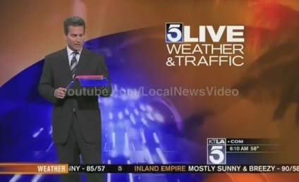 "Weatherman Wishes Happy Birthday to ""Hugh Janus,"" Loses It On Air"