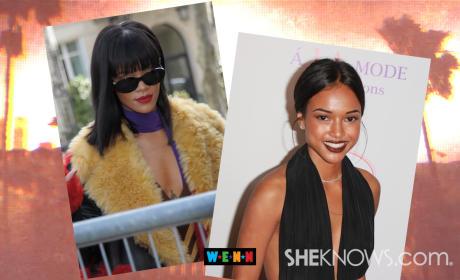 Rihanna vs. Karrueche!
