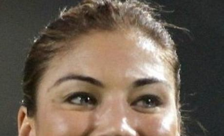 Hope Solo Smile