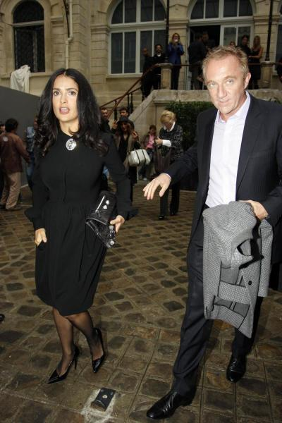 Mr. and Mrs. Francois-Henri Pinault
