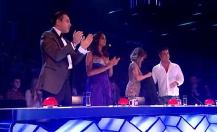 Simon Cowell: Egged on Britain's Got Talent Finale!