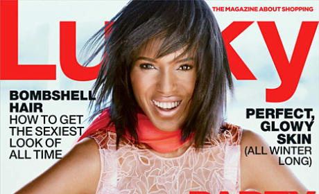 Kerry Washington Lucky Cover: That's Really Her?!
