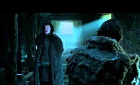Game of Thrones Season 5: Jon Snow and Mance Rayder