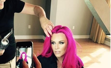 Jenny McCarthy Dyes Hair Bright Pink: See the Photo!