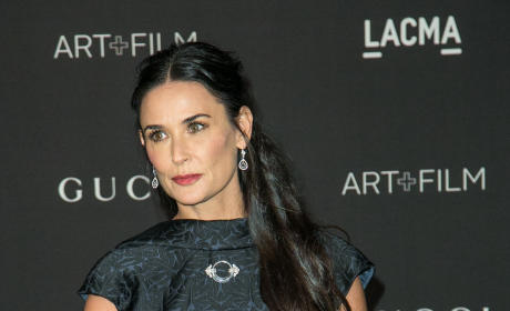 Demi Moore At Art and Film Gala