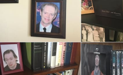 Son Replaces Family Photos with Pics of Steve Buscemi