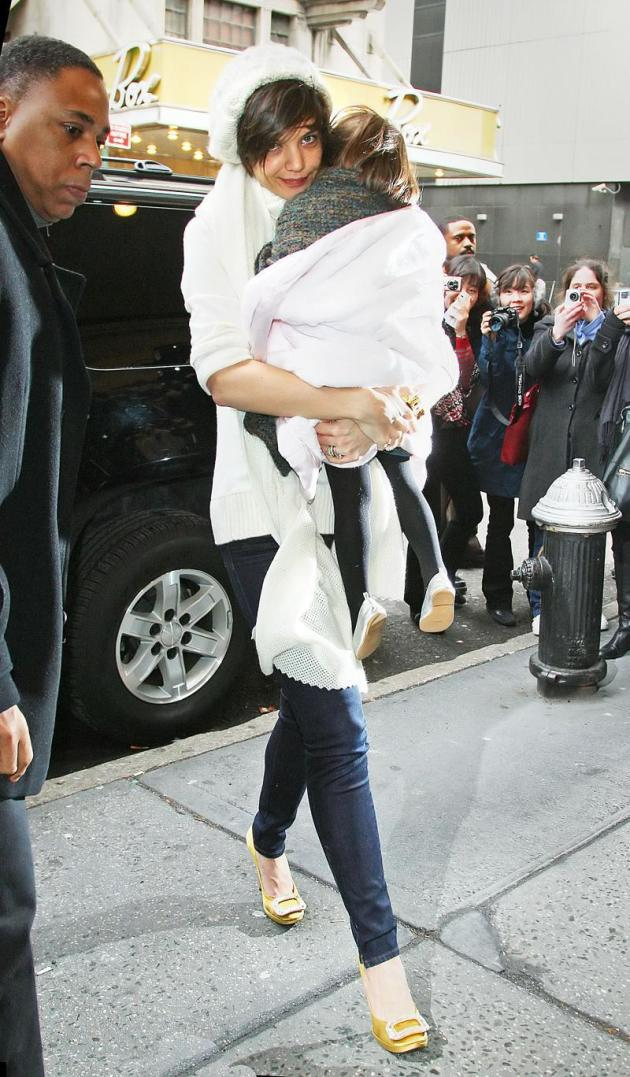 Carrying Suri Cruise