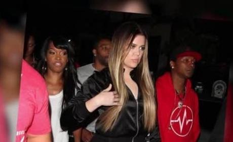 Khloe Kardashian Goes Clubbing