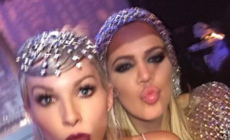 Joyce Bonelli and Khloe Kardashian