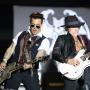 Joe Perry and Johnny Depp