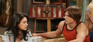 Mila and Ashton on That '70s Show