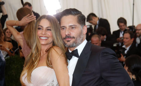 Sofia Vergara and Joe Manganiello at MET Gala