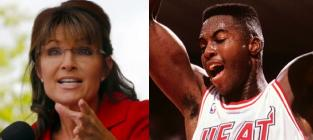 Sarah Palin-Glen Rice Love Tryst Alleged in New Book