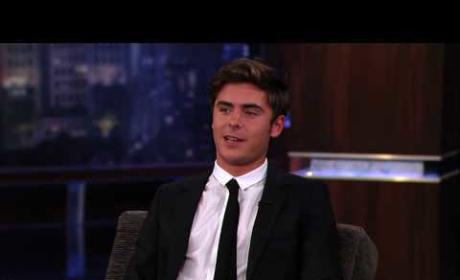 Zac on Kimmel