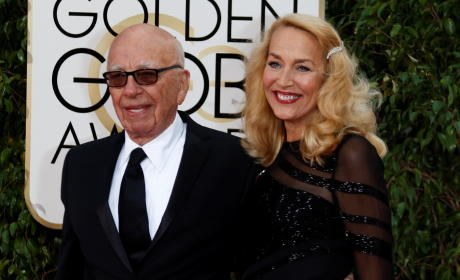 Rupert Murdoch and Jerry Hall: Married!