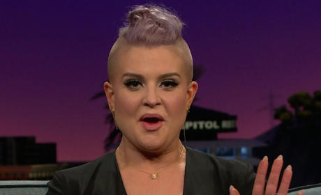 Kelly Osbourne on The Late Late Show