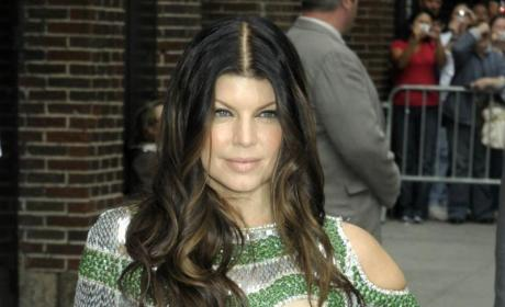Fergie, Questionable Fashion, Visit Letterman