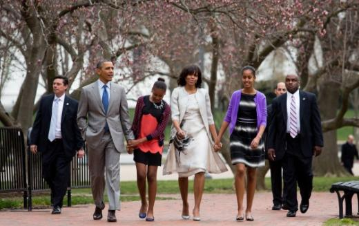 Obama Easter Outfit