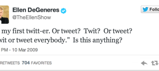 Celebrities Use Twitter for the First Time