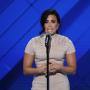 Demi Lovato at the DNC