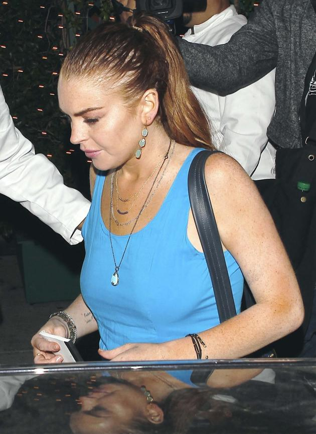 Lindsay Lohan in Beverly Hills