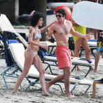 Josh Bowman and Amy Winehouse