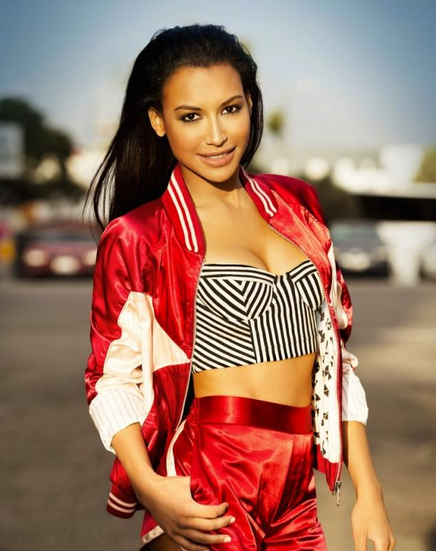 Naya Rivera in Cosmopolitan for Latinas
