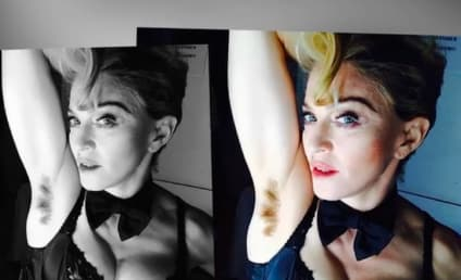 Madonna Shows Off Armpit Hair, Just Doesn't Care