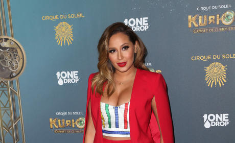 Adrienne Bailon: Opening Night of Cirque Du Soleil's 'Kurios - Cabinet of Curiosities'