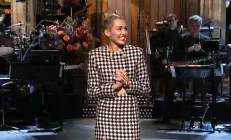 Miley Cyrus SNL Monologue
