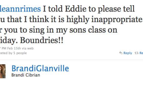 Brandi Glanville to LeAnn Rimes: Show Some Respect!