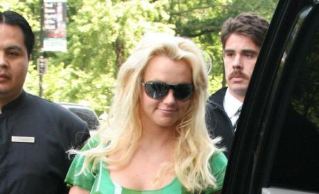 Britney Spears Looking Pregnant