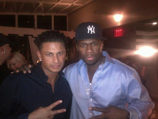 Pauly D and 50 Cent