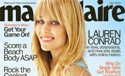 Lauren Conrad in Marie Claire: Holy Bangs!