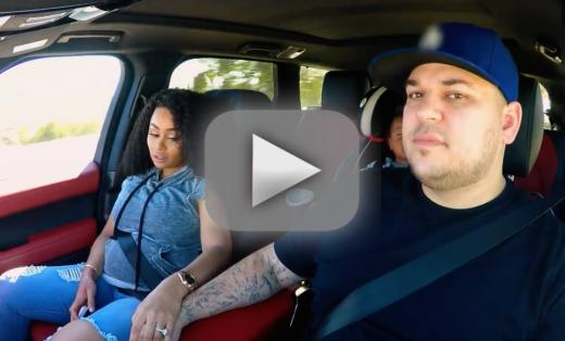 Rob and chyna trailer twerking tears and texts