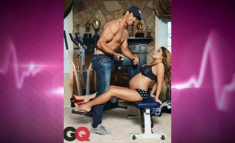 Jessie James Poses in GQ, Makes Pregnancy Look Hot
