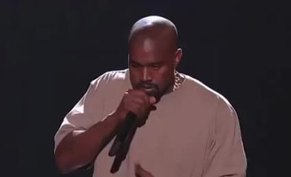 Watch Kanye West Make Like a Stand-Up Comedian