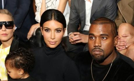 Kim Kardashian and Kanye West: Sleeping in Separate Homes?!