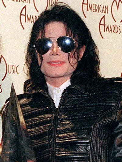 Smiling Michael Jackson