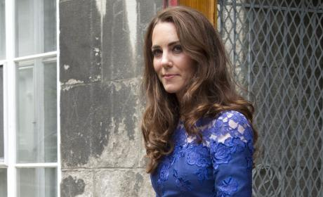 Kate Middleton in Blue
